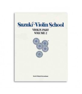 Livro Music Sales ALF28263 Suzuki Violin School Volume 2 com CD