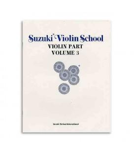 Libro Suzuki Violin School Volume 3 con CD ALF28265