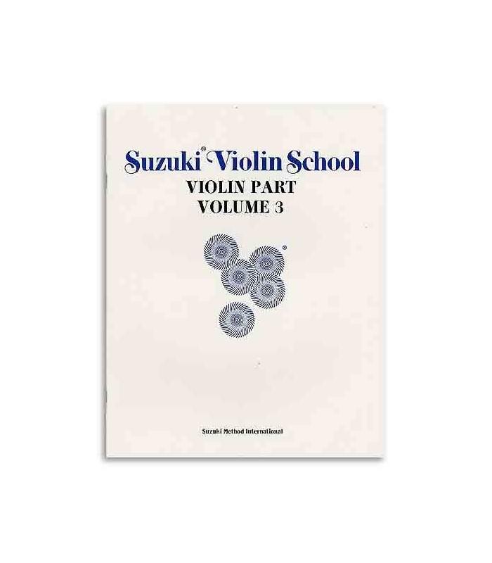 Livro Suzuki Violin School Volume 3 com CD ALF28265