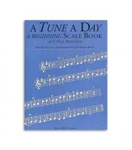 Music Sales Book Tune A Day Violin Beginning Scale Book BM10405