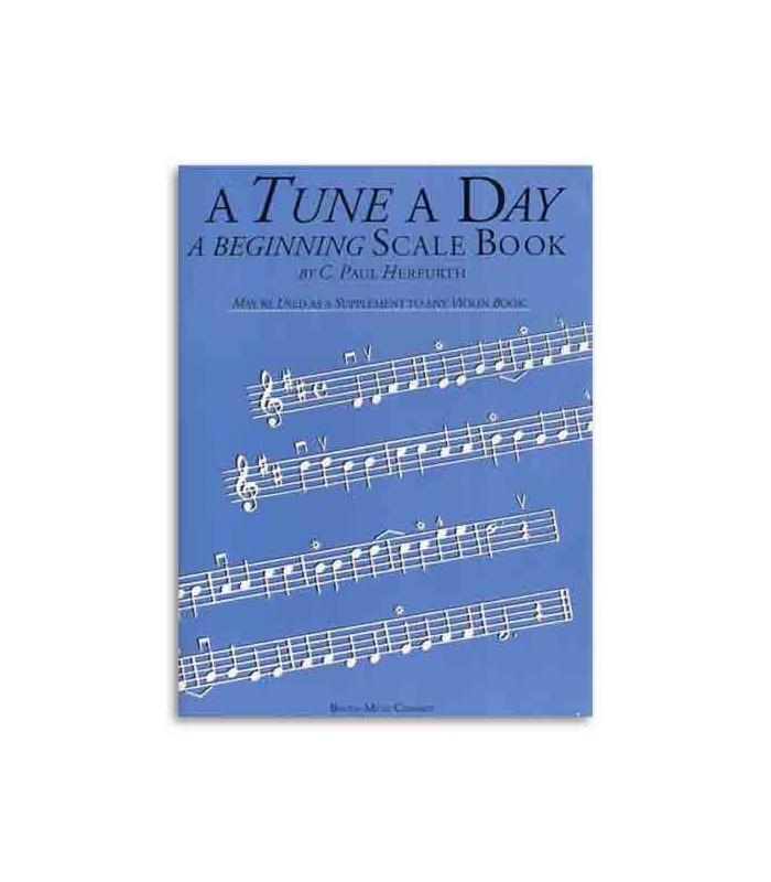 Libro Music Sales BM10405 Tune A Day Violin Beginning Scale Book