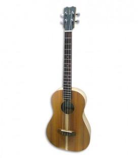 Foto a 3/4 do ukulele barítono APC BS