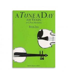 Libro Music Sales BM10298 Tune A Day Violin Book 2