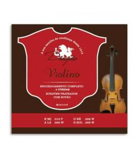 Juego de Cuerdas Dragão 033 para Violín 4 Cuerdas