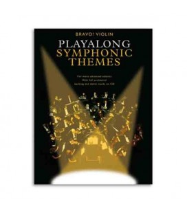 Bravo Symphonic Themes Violin Book CD