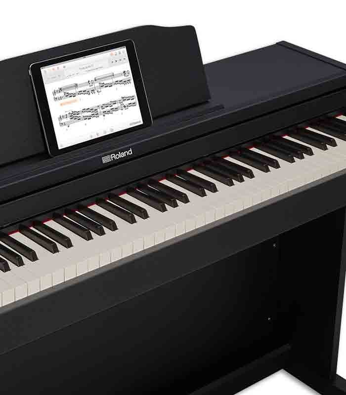 roland digital piano rp102 88 keys 3 pedals with stand. Black Bedroom Furniture Sets. Home Design Ideas
