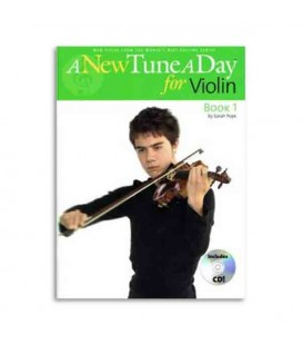 Libro Music Sales BM11396 A New Tune a Day for Violin Book 1 CD