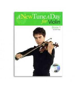 Livro Music Sales BM11396 A New Tune a Day for Violin Book 1 CD