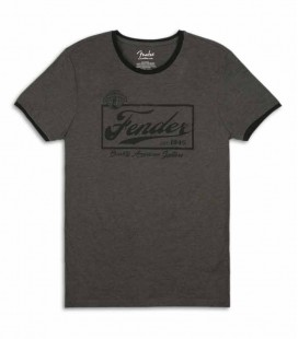 Camiseta Fender Beer Label Ringer Size L