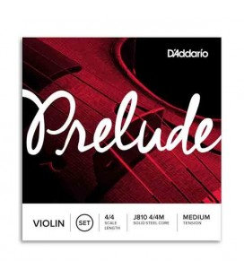 Jogo de Cordas Daddário J810 Prelude para Violino 4/4