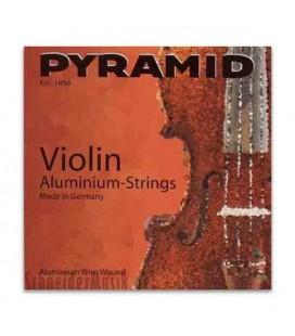 Pyramid Violin Strings Set 100100 Aluminium 4/4