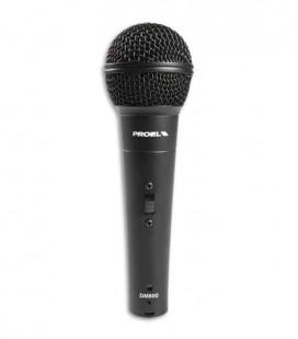 Micrófono Proel DM800 Dynamic Microphone com Interruptor y Cable