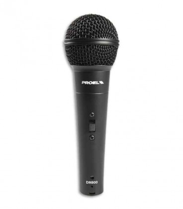 Proel Microphone DM800 Dynamic Microphone with Switch and Cable