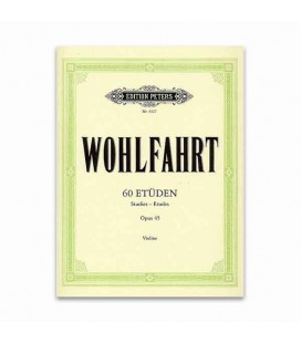 Wohlfahrt 60 Estudos para Violino OPUS 45 Peters
