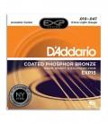 Jogo de Cordas Daddário EXP15 010 Phosphor Bronze para Guitarra Acústica