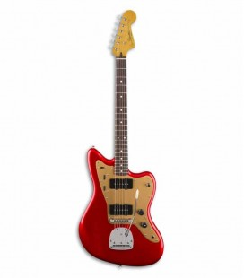 Guitarra Elétrica Fender Squier Deluxe Jazzmaster RW Candy Apple Red