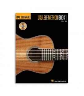 Livro Music Sales HL00695832 Hal Leonard Ukulele Method Book 1