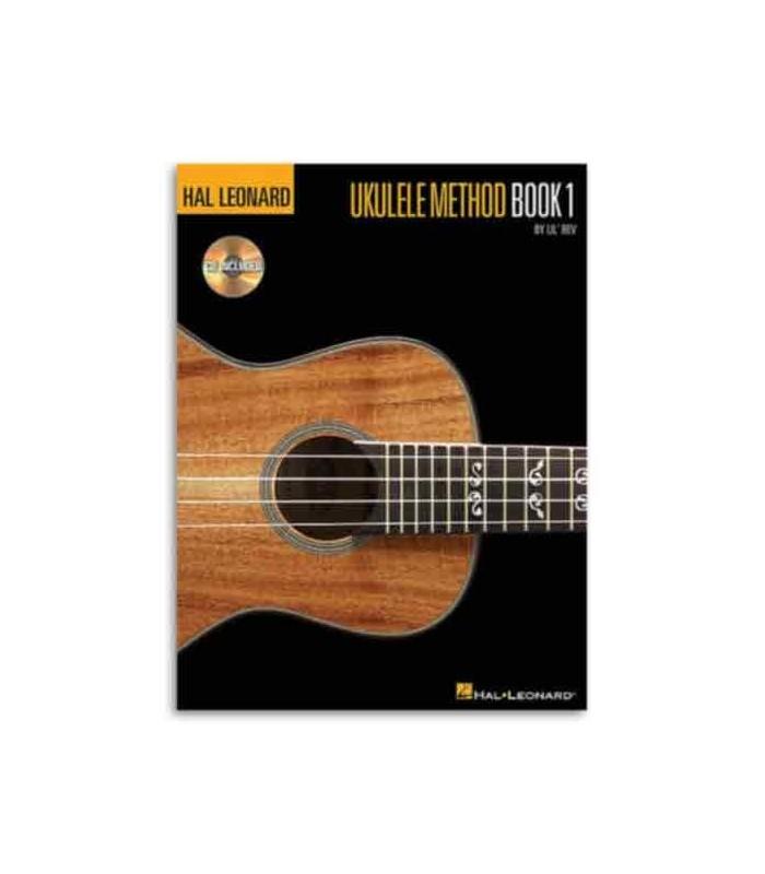 Cover of book Hal Leonard Ukulele Method Book 1