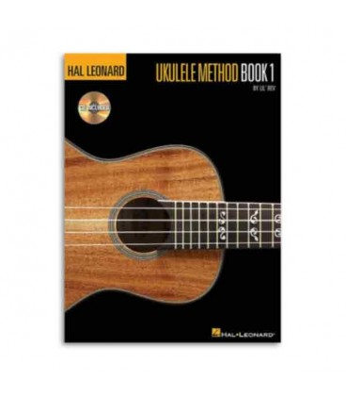 Capa do livro Hal Leonard Ukulele Method Book 1