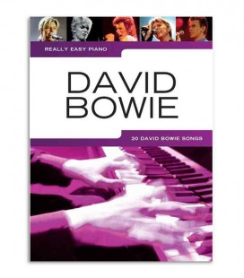 Music Sales Book David Bowie Easy Piano AM1011791