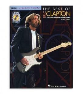 Libro Music Sales Eric Clapton Best Of Signature Licks Book CD AM91206