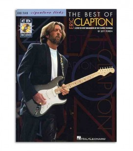 Livro Music Sales Eric Clapton Best Of Signature Licks Book CD AM91206