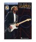 Capa do livro The Best Of Eric Clapton Signature Licks