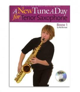 Livro Music Sales A New Tune A Day Tenor Sax Book CD BM11891