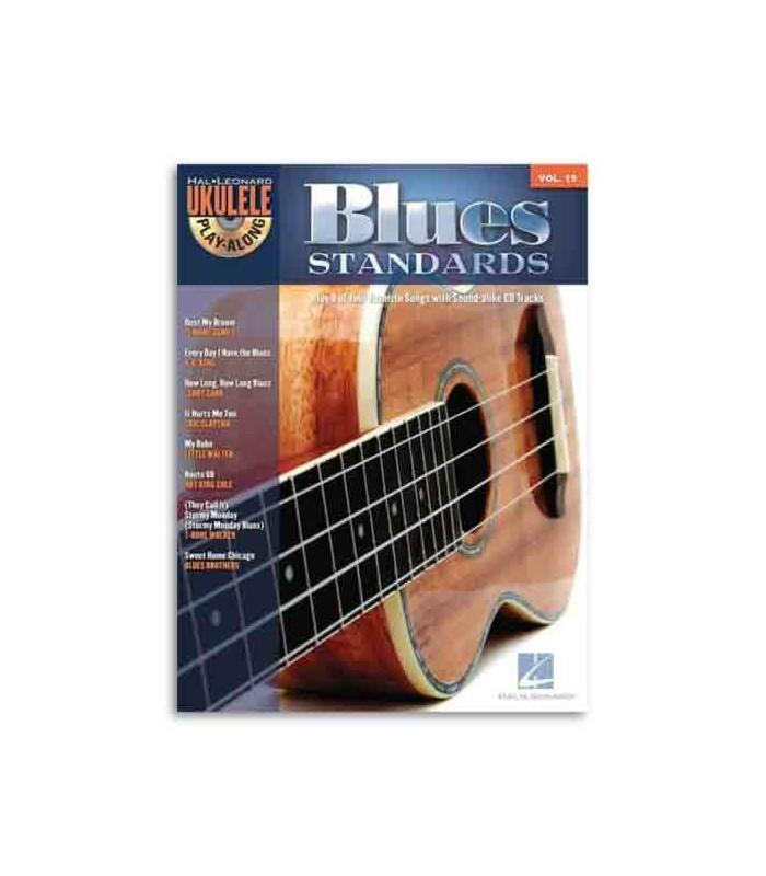 Music Sales Book Ukulele Play Along Blues Standards Volume 19 HL00703087