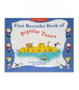 Libro Music Sales First Recorder Book of Popular Tunes CH61593