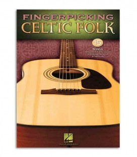 Book Fingerpicking Celtic Folk 15 Songs HL00701148