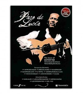 Libro Paco de Lucía The Best Of Guitar Tab MB607