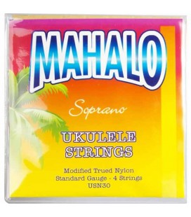 Jogo de Cordas Mahalo USN30 para Ukulele Soprano