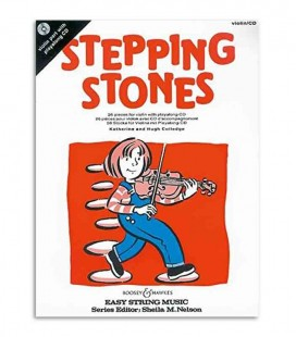 Libro Stepping Stones 26 Piezas Violín con CD