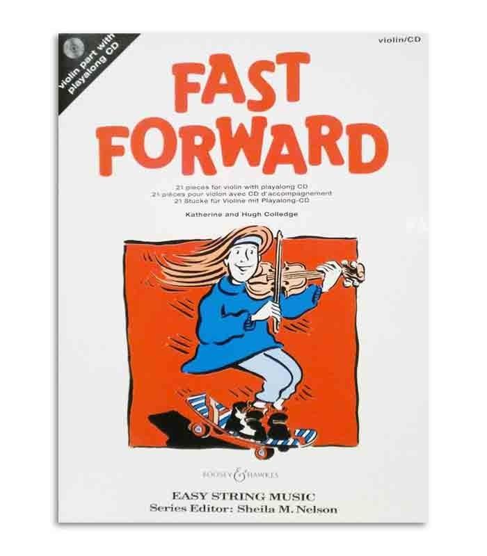 Libro Colledge Fast Forward 21 Piezas para Violín con CD