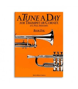 Livro Music Sales BM10264 Tune A Day Trumpet or Cornet Book 1