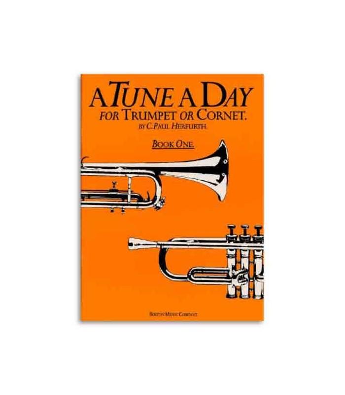 Livro Music Sales BM10264 Tune A Day Trumpet or Cornet Book 1