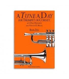Livro Music Sales BM10272 Tune A Day For Trumpet Book 2