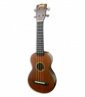 Foto a 3/4 do ukulele Mahalo MJ1VT Java