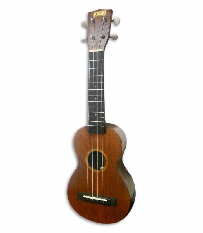 Foto a 3/4 del ukulele Mahalo MJ1VT Java