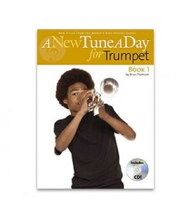 Livro Music Sales BM11385 A New Tune A Day Trumpet Book CD