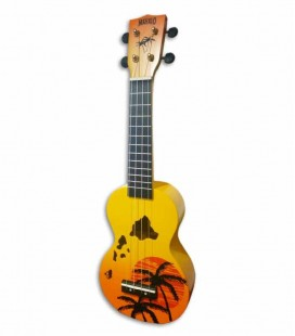 Mahalo Soprano Ukulele MD1HA Hawaii Orange with Bag