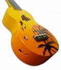 Mahalo Soprano Ukulele MD1HA Hawaii Orange with Bag