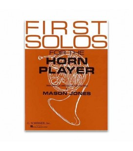 Livro Music Sales GS33245 First Solos for the Horn Player