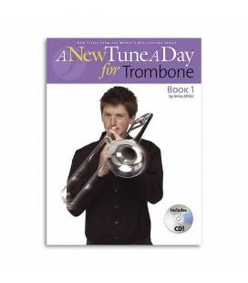 Libro Music Sales Tune A Day Trombone Book 1 Clave Fá