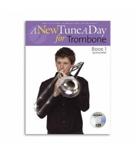 Livro Music Sales Tune A Day Trombone Book 1 Clave Fá