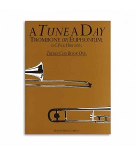 Livro Music Sales Tune A Day Trombone Book 1 Clave Sol