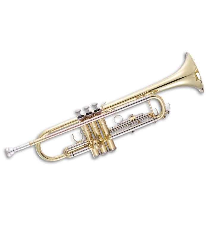 Trompete John Packer JP501 Si Bemol Dourado com Estojo