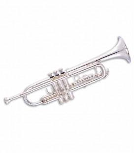 Trompeta John Packer JP051S Si Bemol Plateado con Estuche