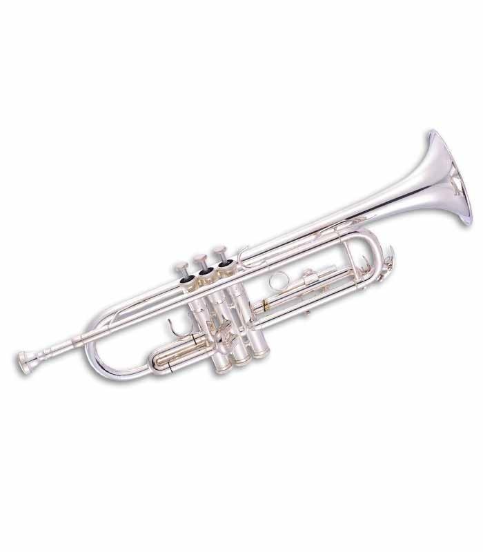 Trompete John Packer JP051S Si Bemol Prateado com Estojo
